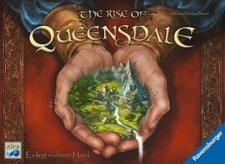 The Rise of Queensdale -Couv-Jeu-de-societe-ludovox