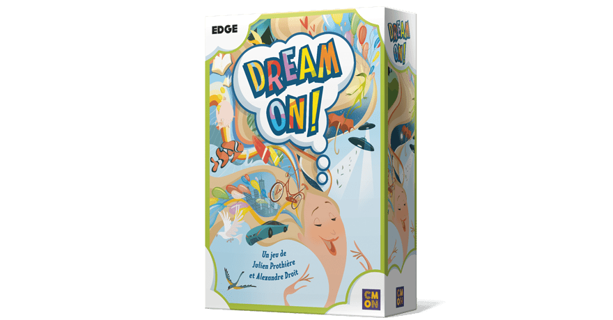 dream on box 3d