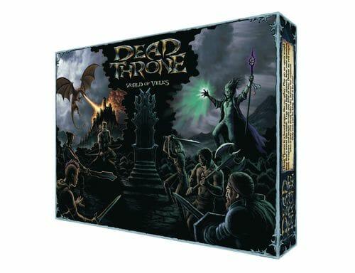 Dead Throne cover boite de jeu