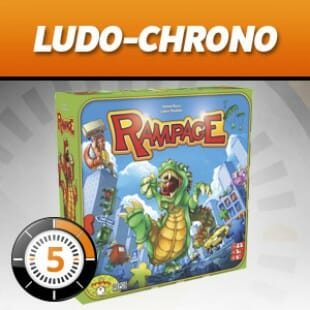 LUDOCHRONO – Terror in Meeple City (Rampage)
