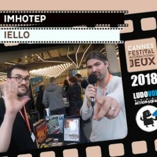 FIJ 2018 – Imhotep – Iello