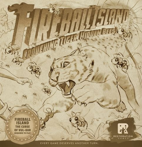 Fireball Island The Curse of Vul-Kar Crouching Tiger, Hidden Bees!