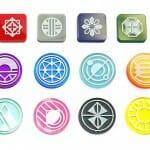 Starship Samurai symboles