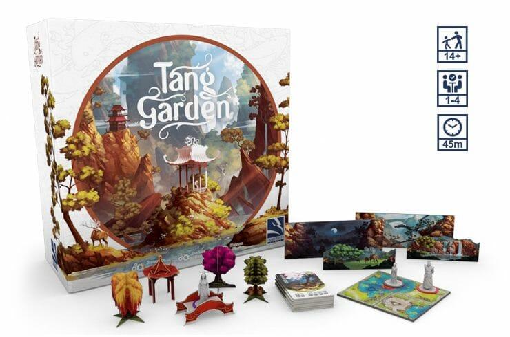 ThunderGryph Games tang garden materiel boite jeu