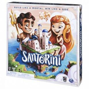Santorini : Le jeu abstrait des dieux