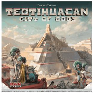 Teotihuacan, la cité des Dieux, chez Pixie Games