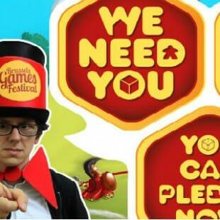 Le BGF a besoin de vous. [Brussels Games Festival] #KS