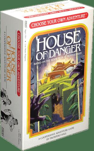 Choose Your Own Adventure House of Danger boite jeu