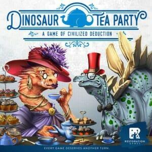 Dinosaur Tea Party jeu