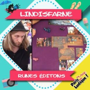 Paris Est Ludique 2018 – Lindisfarne – Runes éditons