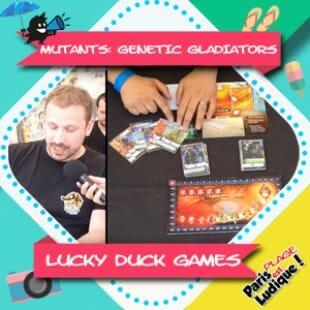 Paris Est Ludique 2018 – Mutants: Genetic Gladiators – Lucky Duck Games
