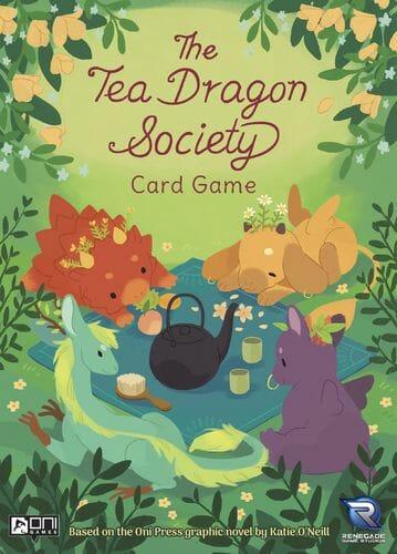The Tea Dragon Society Card Game cover jeu