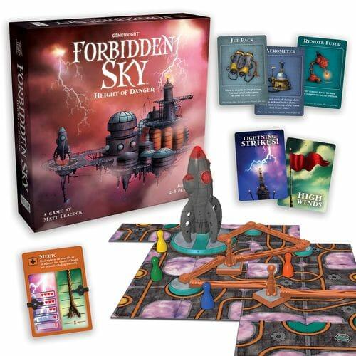 forbidden sky jeu
