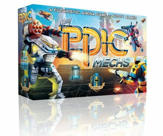 Tiny Epic Mechs game
