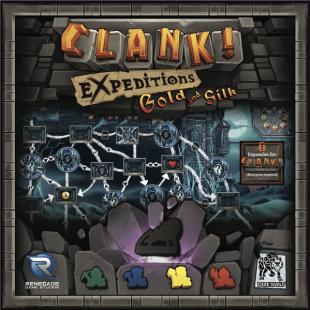 Clank! Expeditions: L'or et la soie