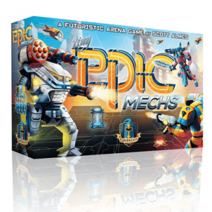 Tiny Epic Mechs, les minis robots géants