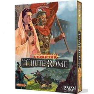 Pandemic : La Chute de Rome !  Invasion barbares à l'horizon