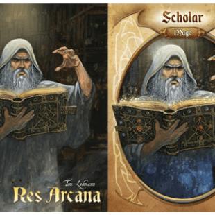 Res Arcana, le retour de Thomas Lehmann