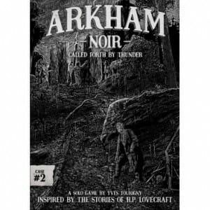Arkham Noir Case 2 Called Forth By Thunder box