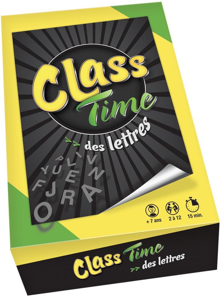 Class time des Lettres-Couv-Jeu de societe-ludovox