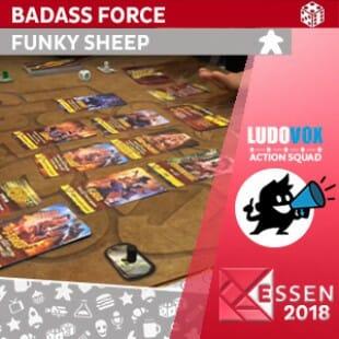 Essen 2018 – Badass Force – Funky Sheep