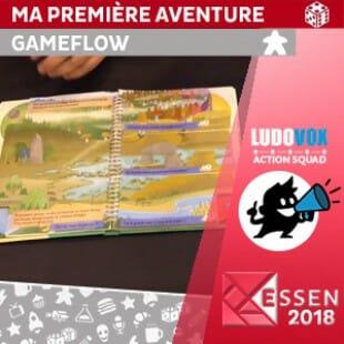 Essen 2018 – En quête du Dragon : Ma Première Aventure – GameFlow