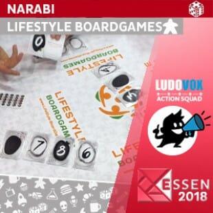 Essen 2018 – Narabi – Lifestyle Boardgames