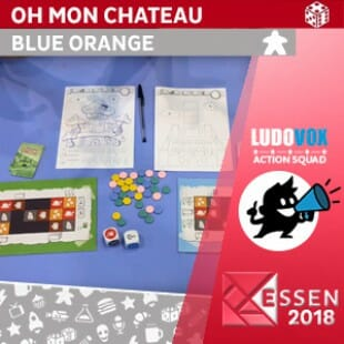 Essen 2018 – Oh mon chateau – Blue Orange