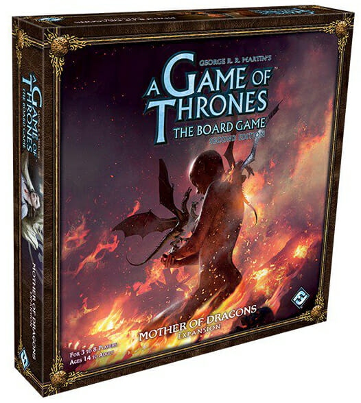 A Game of Thrones - The Boardgame - Mother of Dragons Expansion-Couv-Jeu-de-societe-ludovox