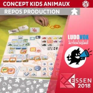 Essen 2018 – Concept Kids Animaux – Repos Production