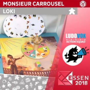 Essen 2018 – Monsieur Carrousel – LOKI