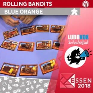 Essen 2018 – Rolling Bandits – Blue Orange