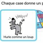Lou le Loup - La Course aux Bisous-Materiel-Jeu-de-societe-ludovox
