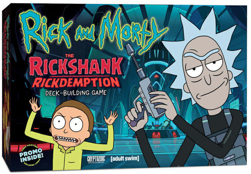 Rick and Morty - The Rickshank Rickdemption Deck Building Game-Couv-Jeu-de-societe-ludovox