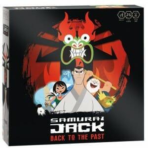Samurai Jack Back to the Past-Couv-Jeu-de-societe-ludovox