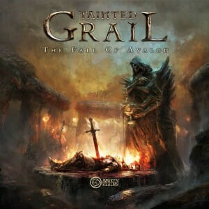 Tainted Grail Fall of Avalon-Couv-Jeu-de-societe-ludovox