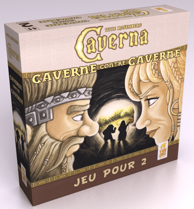 Caverna Caverne vs Caverne-Couv-Jeu de societe-ludovox