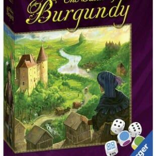 Les châteaux de Bourgogne version dés