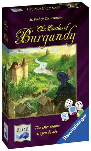 Les châteaux de Bourgogne version dés-Couv-Jeu-de-societe-ludovox
