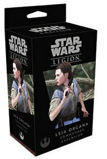 Star Wars Legion - Leia Organa Commander Expansion-Couv-Jeu-de-societe-ludovox