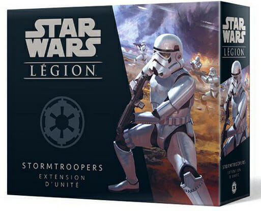 Star Wars Legion Stormtroopers Unit Expansion-Couv-Jeu-de-societe-ludovox