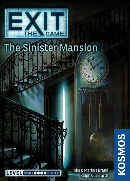 EXIT jeu Le Manoir Sinistre