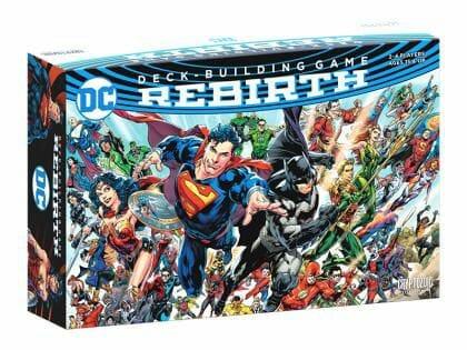 DC Deck-Building Game Rebirth jeu ludovox