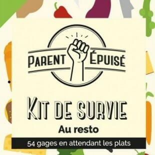 Parent Épuisé – Kit de survie Restaurant