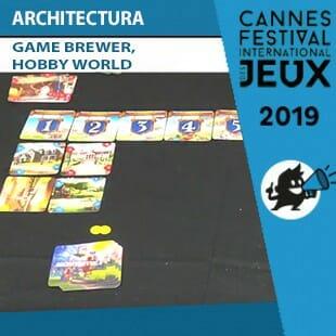 FIJ 2019 – Architectura – Game Brewer & Hobby World