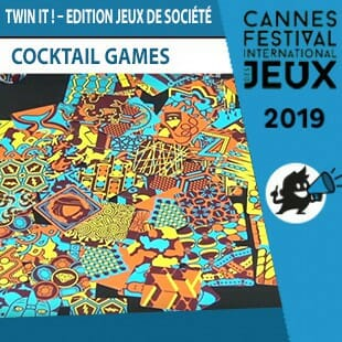 FIJ 2019 – Twin It! : Edition Jeux de société – Cocktail Games