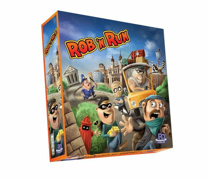 Rob 'n Run jeu boite