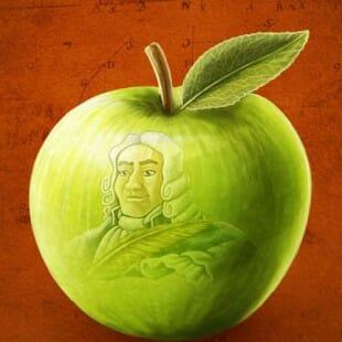 Newton : on a croqué la pomme !