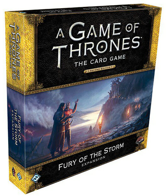 A Game of Thrones The Card Game - Fury of the Storm-Couv-Jeu de société-Ludovox