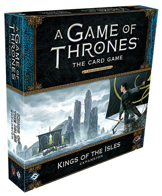 A Game of Thrones The Card Game - Kings of the Isles-Couv-Jeu de société-Ludovox